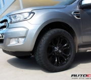 FORD PJ PK RANGER WITH FUEL VAPOR MATTE BLACK 2
