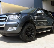 FORD RANGER WITH BLACK RHINO SIDEWINDER MATTE BLACK