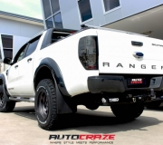 FORD RANGER WITH FUEL TROPHY MATTE ANTHRACITE WITH BLACK RING 02