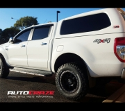 FORD RANGER FUEL TROPHY IN MATTE BLACK WITH ANTRACITE RING 2