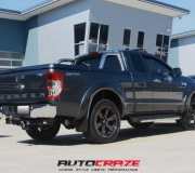 FORD RANGER WITH FUEL BEAST BLACK WITH DARK TINT FINISH-3