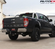 FORD RANGER WITH FUEL MAVERICK GLOSS BLACK WITH MILLED ACCENTS-1