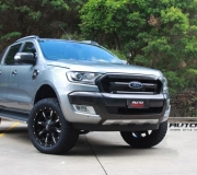 FORD RANGER NUTZ GLOSS BLACK WITH MILLED ACCENT